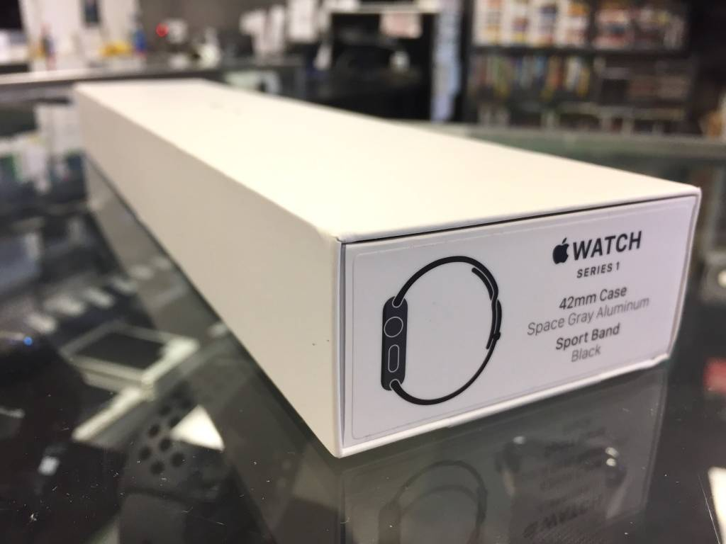 Apple Watch Series 1 - 42mm - Sport Black - With Box