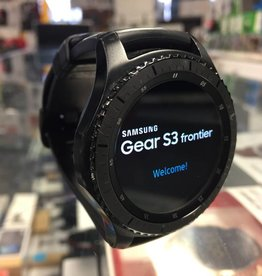 Samsung Gear S3 Frontier Smart Watch - Black - Used