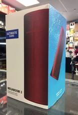 New - UE Ultimate Ears Megaboom 3 Bluetooth Speaker - Red