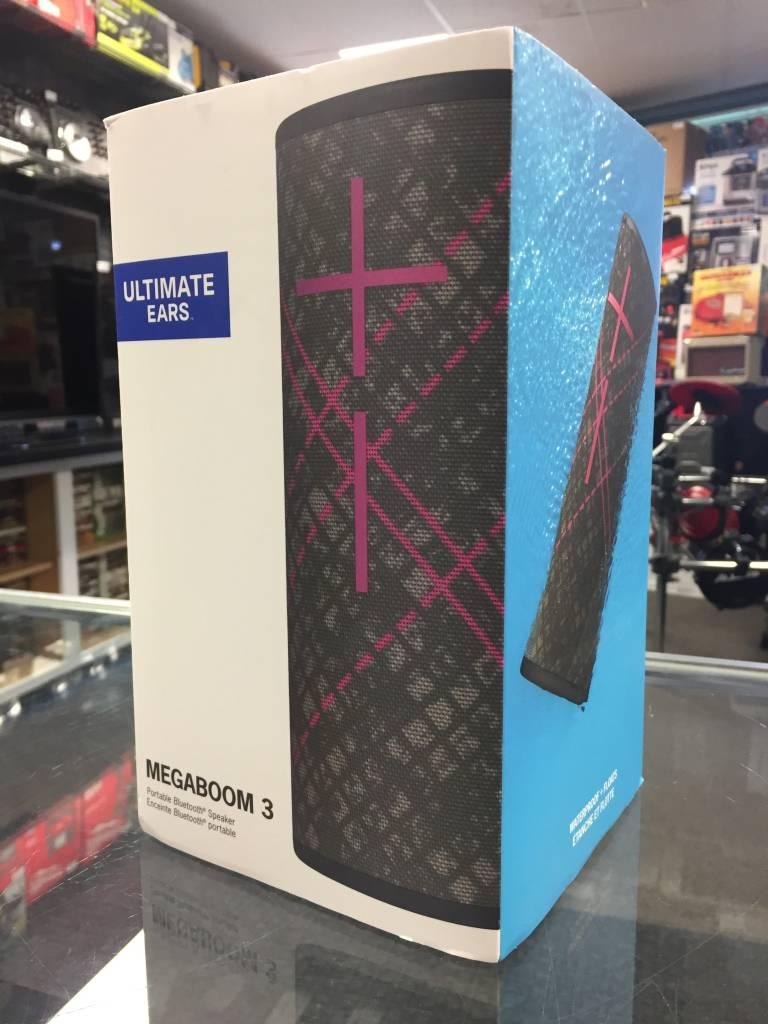 New - UE Ultimate Ears Megaboom 3 Bluetooth Speaker - Black & Purple