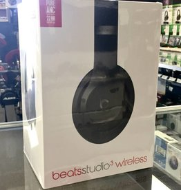 Factory Sealed - Beats by Dre Studio 3 Wireless - Matte Black