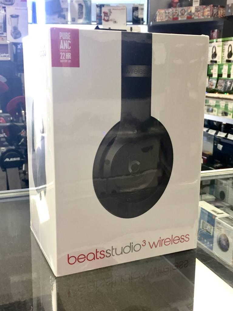 Factory Sealed - Beats by Dre Studio 3 Wireless - Matte Black/Grey
