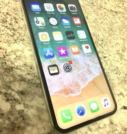 Unlocked - iPhone X - 64GB - White/Silver