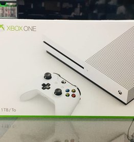 Mint in Box - Microsoft Xbox One S 1TB Console Bundle - White