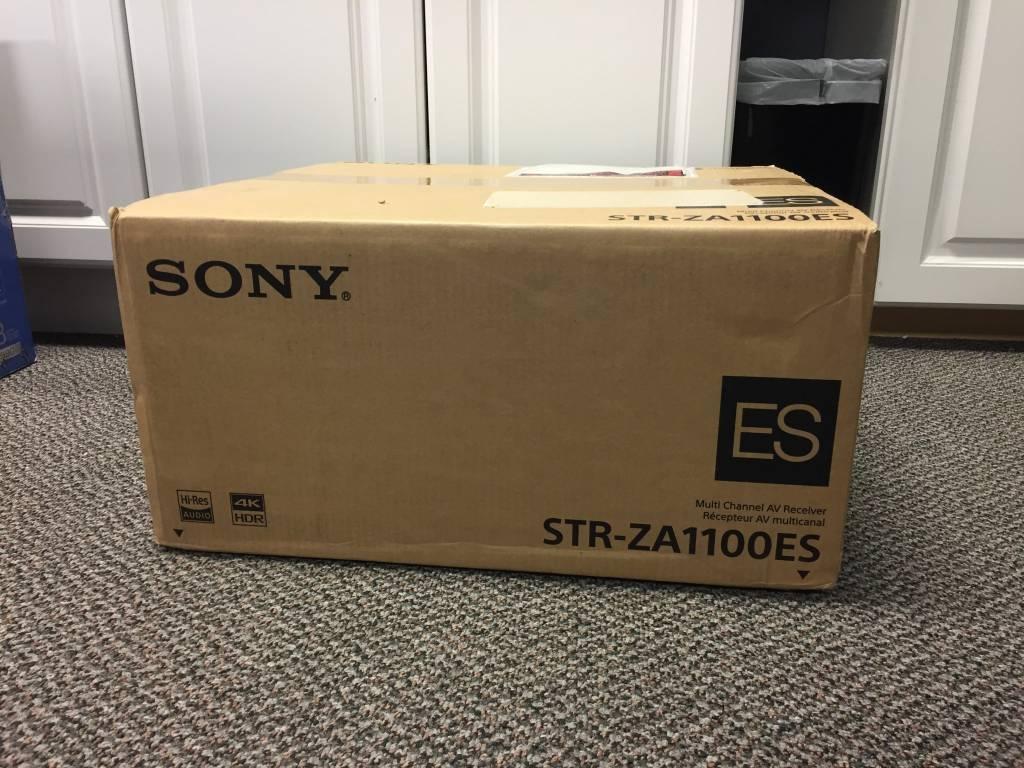 Brand New - Sony STR-ZA1100ES 4K A/V Receiver