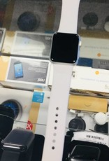 4G/GPS - Apple Watch Series 3 - 38mm - Silver Aluminum - Light Gray Band