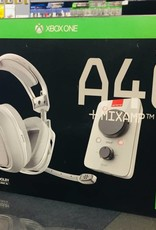 Astro A40 + MixAmp Pro Video Gaming Equipment Headset - White