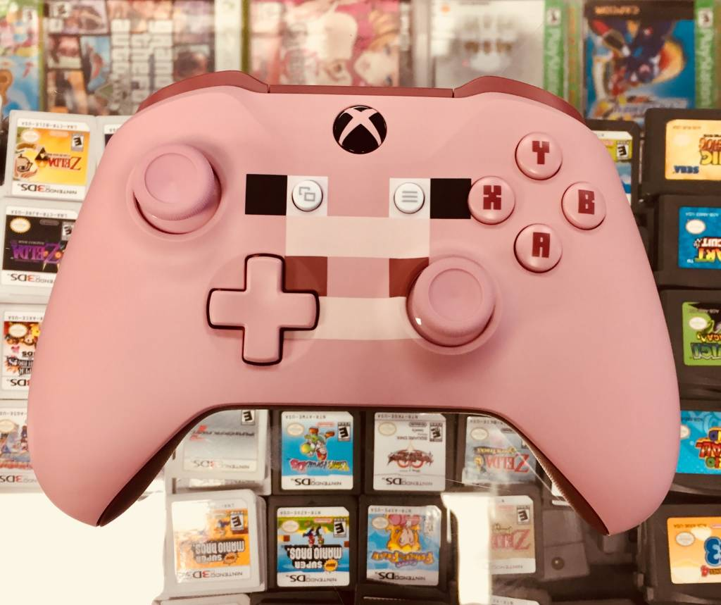 Microsoft Xbox One Wireless Controller - Minecraft Pig (1708)