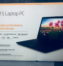 "Brand New - HP-15-BS289WM Intel Pentium 1.1GHz 4GB Ram 1TB HD 15.6"" TouchScreen"
