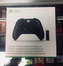 Xbox One Wireless Adapter for Windows With Controller-Black (1708)