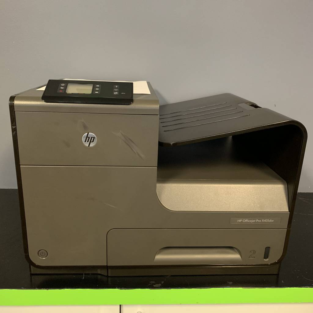 HP OfficeJet Pro X451dw Office Printer with Wireless Network Printing