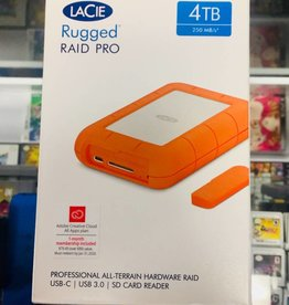 LaCie Rugged RAID Thunderbolt & USB 3.0 Mobile Hard Drive 4TB - STGW4000800