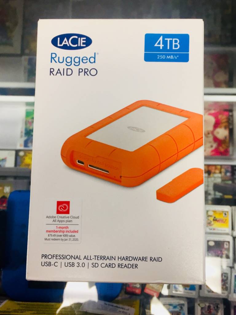 LaCie Rugged RAID Thunderbolt & USB 3.0 Mobile Hard Drive 4TB - STGW4000800