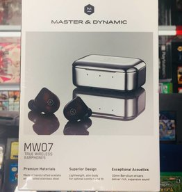 Master & Dynamic - MW07 True Wireless Earphones Steel Blue