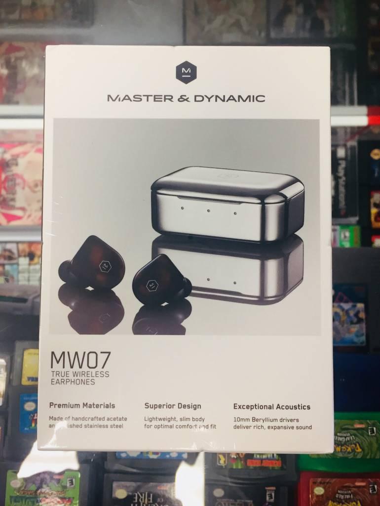 Master & Dynamic - MW07 True Wireless Earphones Steel Blue