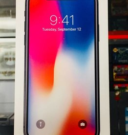 New in Box - Unlocked - iPhone X - 64GB - Black