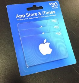 Apple App Store & iTunes $30 Gift Card Pack