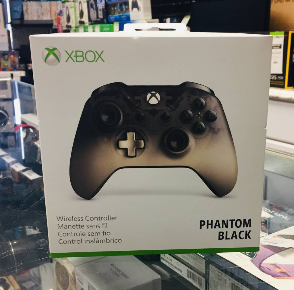 New in Box - Microsoft Xbox One Wireless Controller - Phantom Black