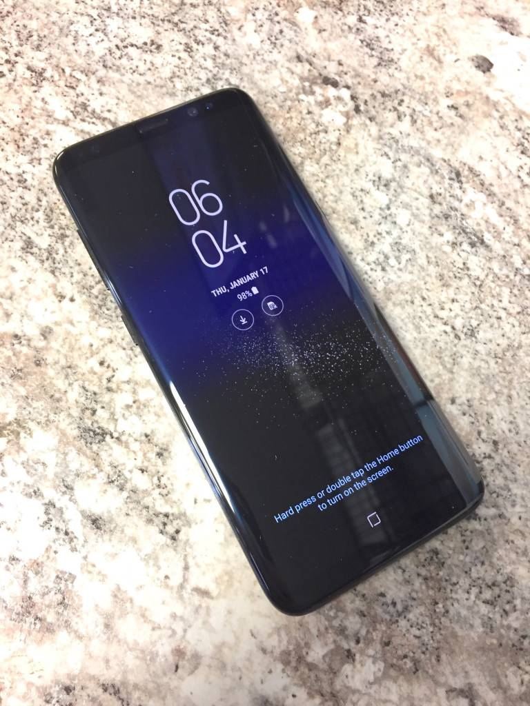 T-Mobile/MetroPCS - Samsung Galaxy S8 - 64GB - Black