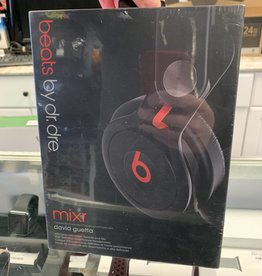 New Beats MIXR David Guetta Wired Black/Red Headphones