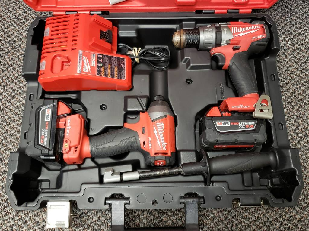 Used - M18 Fuel Hammer Drill/Impact Driver Combo Kit w/ One Key