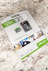 PNY 128gb Elite Micro SDXC Flash Card w/ Adapter - New