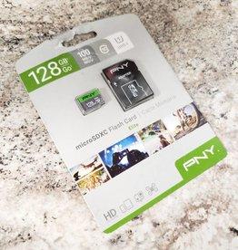 PNY 128gb Elite Micro SDXC Flash Card w/ Adapter - New