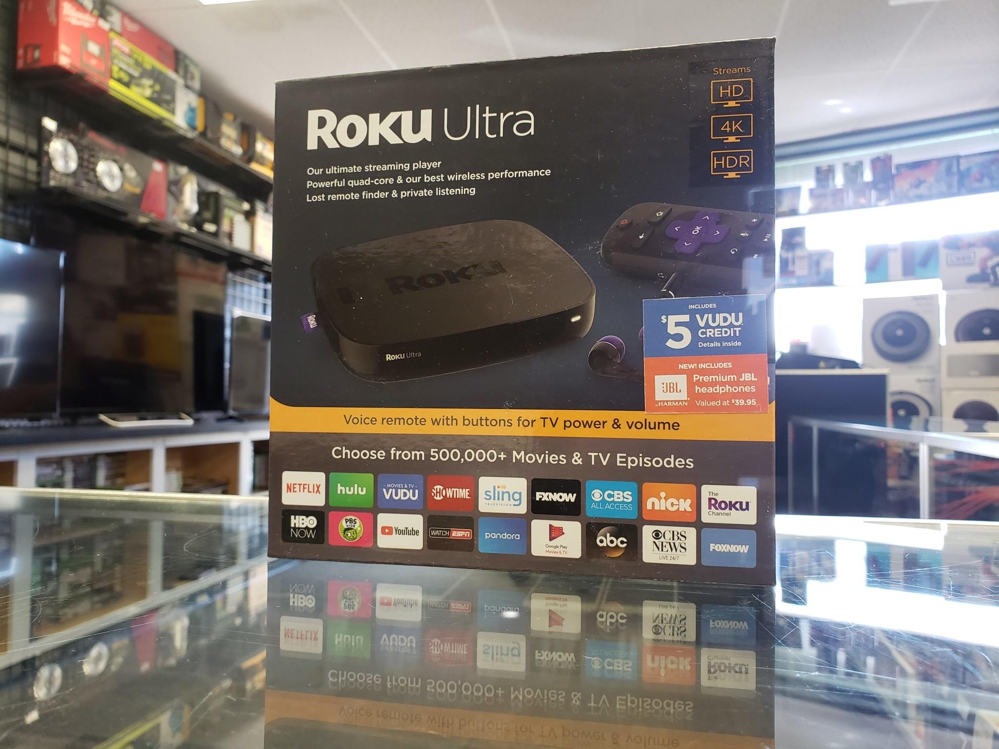New - Roku Ultra 4K Streaming Player