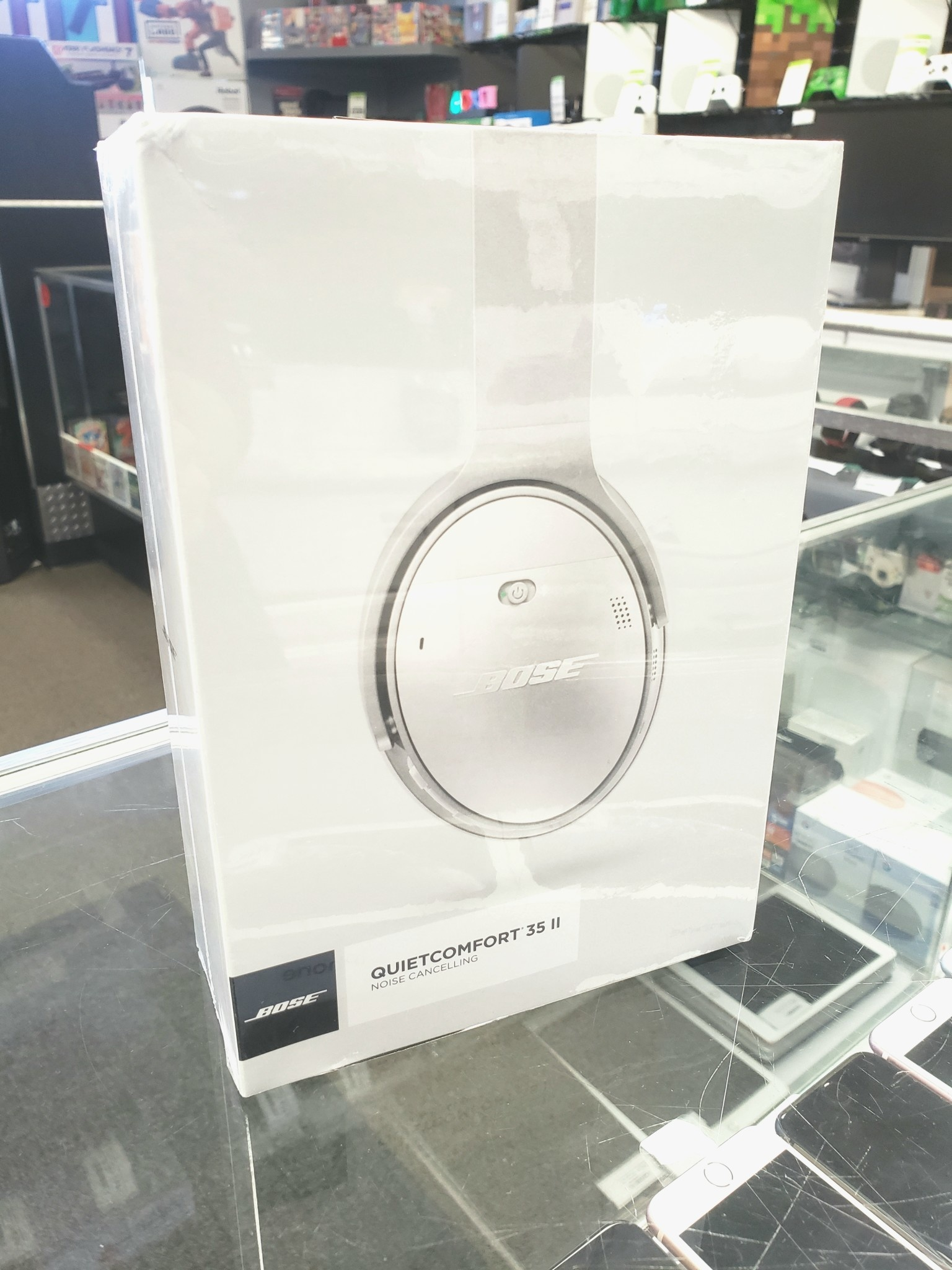 New Sealed - Bose QuietComfort 35 II Acoustic Noise Cancelling WIRELESS Headphones - Silver