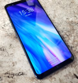 Unlocked - LG G7+ (Plus) ThinQ - 128GB / 6GB RAM - Aurora Blue
