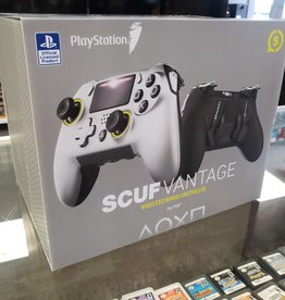 Scuf Vantage PS4 Wired/Wireless Controller Set - Mint in Box - w/ Extra Paddles & Buttons