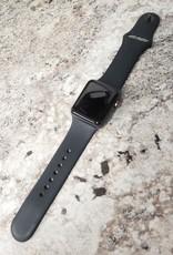 4G/GPS - Series 3 Apple Watch - 38mm - Black - S/M - Fair