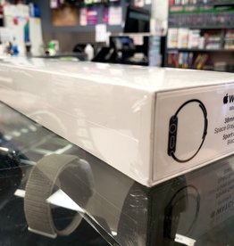 Factory Sealed - Wifi/GPS - Apple Watch Series 3 - 38mm - Black