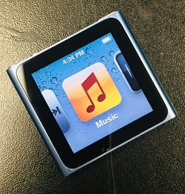 Apple iPod Nano 6th Generation Clip - 8GB - Blue