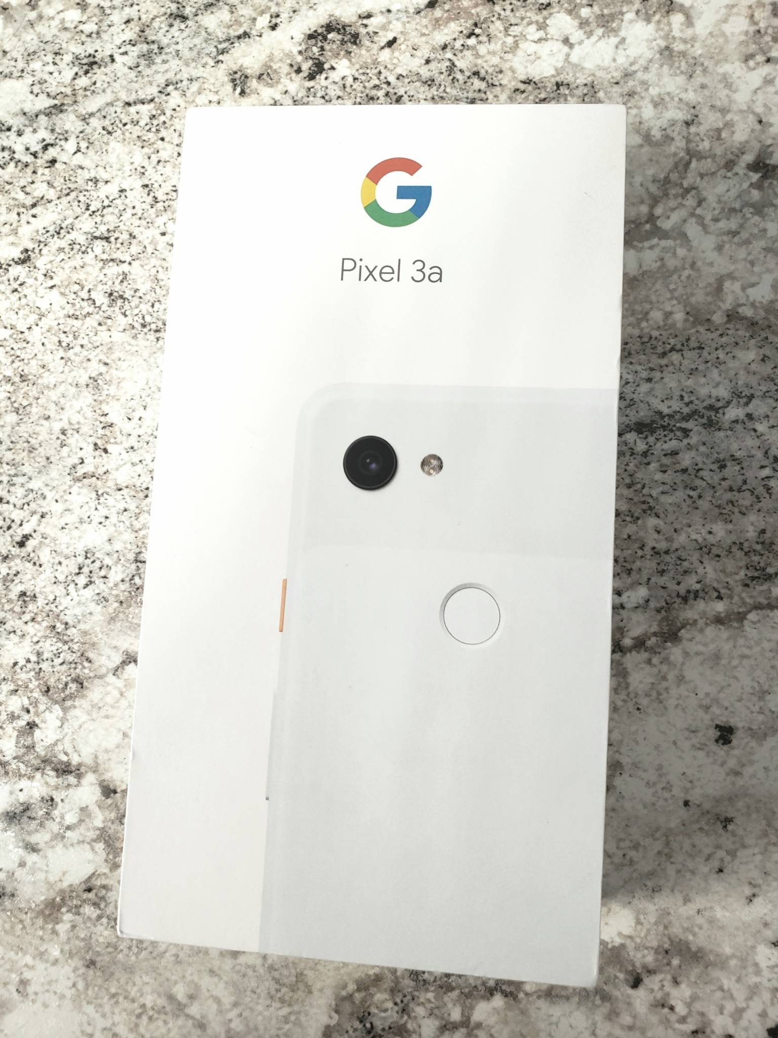 New In Box - Unlocked - Google Pixel 3a - 64GB - Clearly White