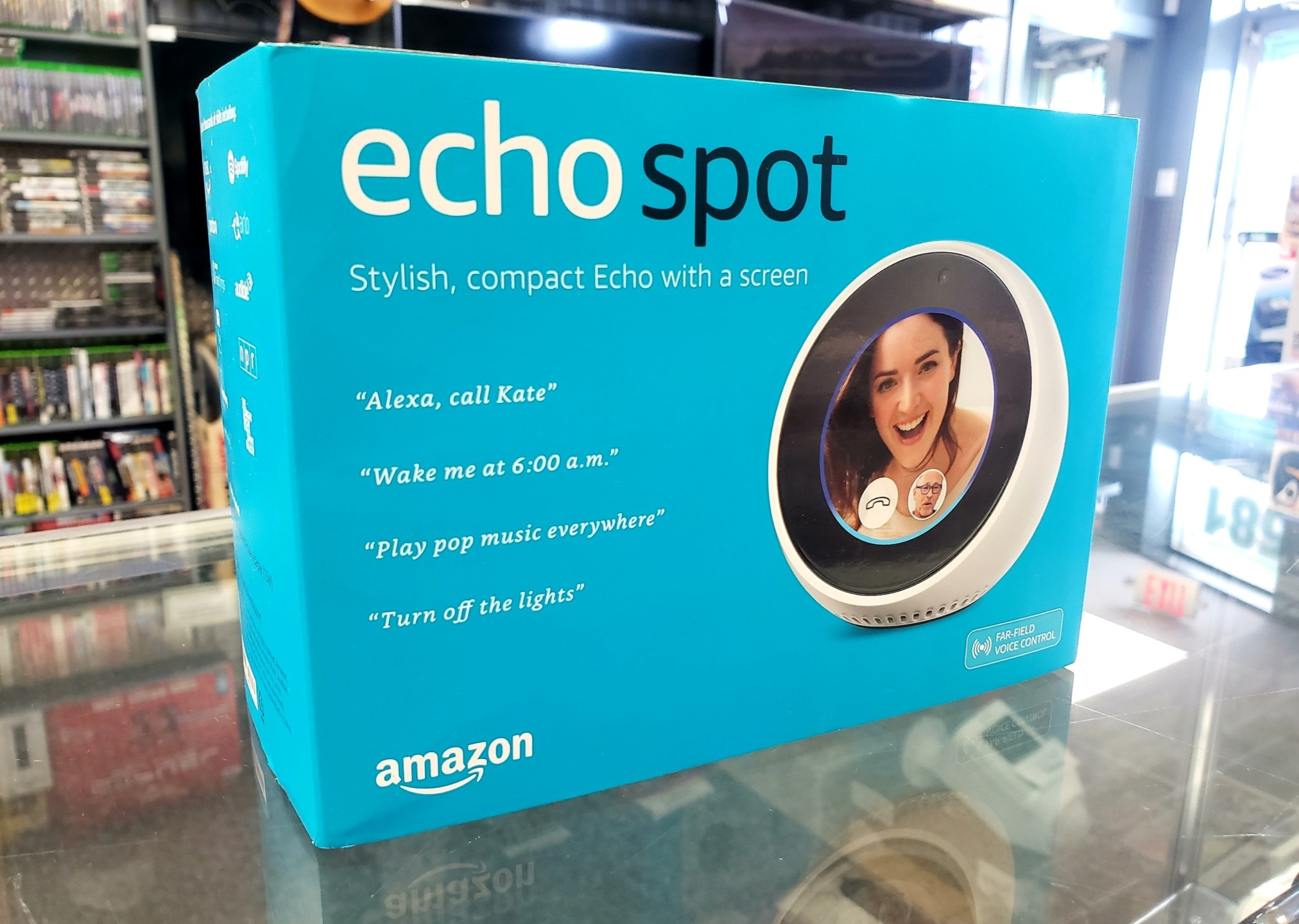New in Box - Amazon Echo Spot - White