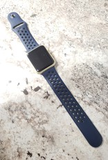 Apple Watch Series 1 - 42mm - Gold Aluminum - Blue Nike Band