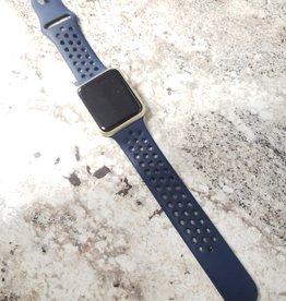 Apple Watch Series 1 - 42mm - Gold Aluminum - Blue Nike Band