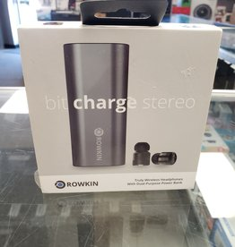 New - Rowkin Bit Charge Stereo True Wireless Headphones & Power Bank