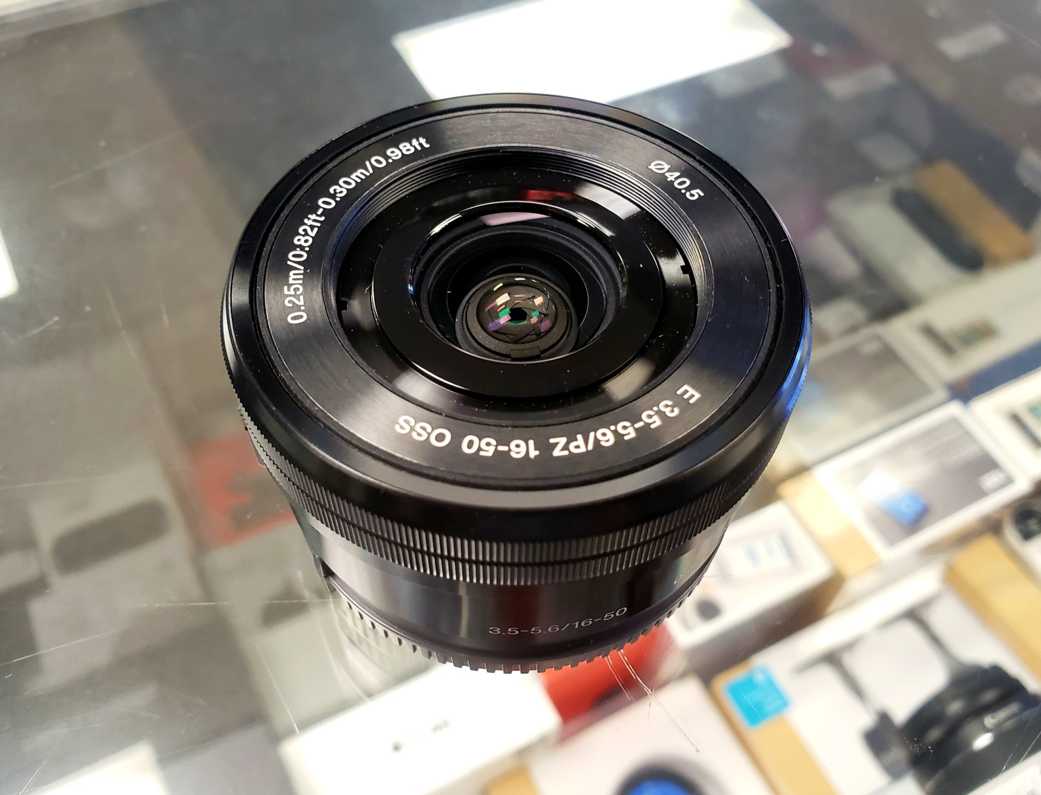 Sony 16-50mm f/3.5-5.6 OSS SELP1650 Telephoto AF Lens