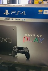 Sony Playstation 4 (PS4) Slim 1TB - Days of Play Edition - Console System Bundle