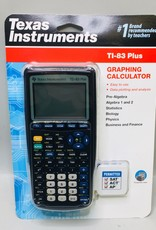 New - Texas Instruments TI-83+ Graphing Calculator - Black