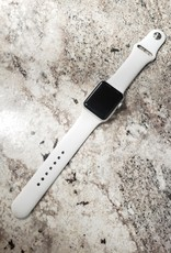 Wifi - Apple Watch Series 3 - 38mm - Silver Aluminum / White Bands