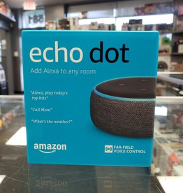 New - Amazon Echo Dot 3 - Alexa Personal Assistant (Black)