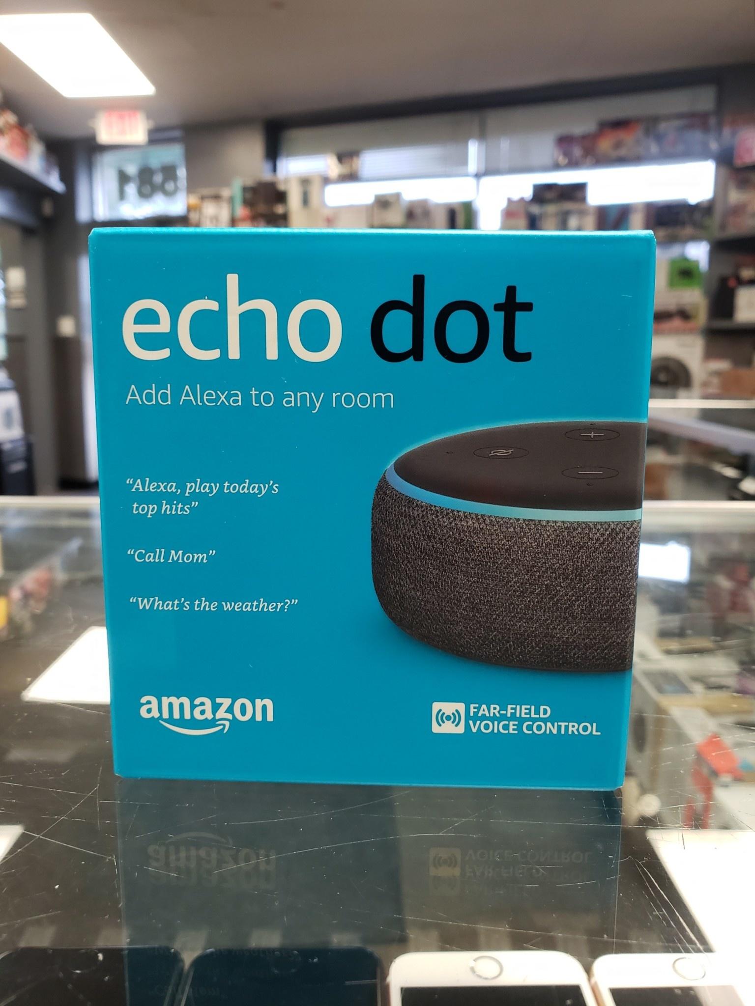 New - Amazon Echo Dot 3 - Alexa Personal Assistant (Black)