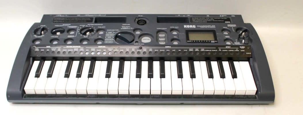 Korg MS1 Micro Sampler Keyboard