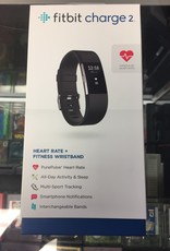 Used Fitbit Charge 2 - Black Band - Fair Condition