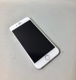 AT&T/Cricket -  iPhone 6 - 64GB - White/Silver