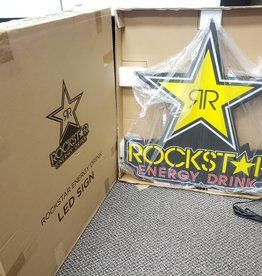 New Open Box - Rockstar Energy Drink LED Sign