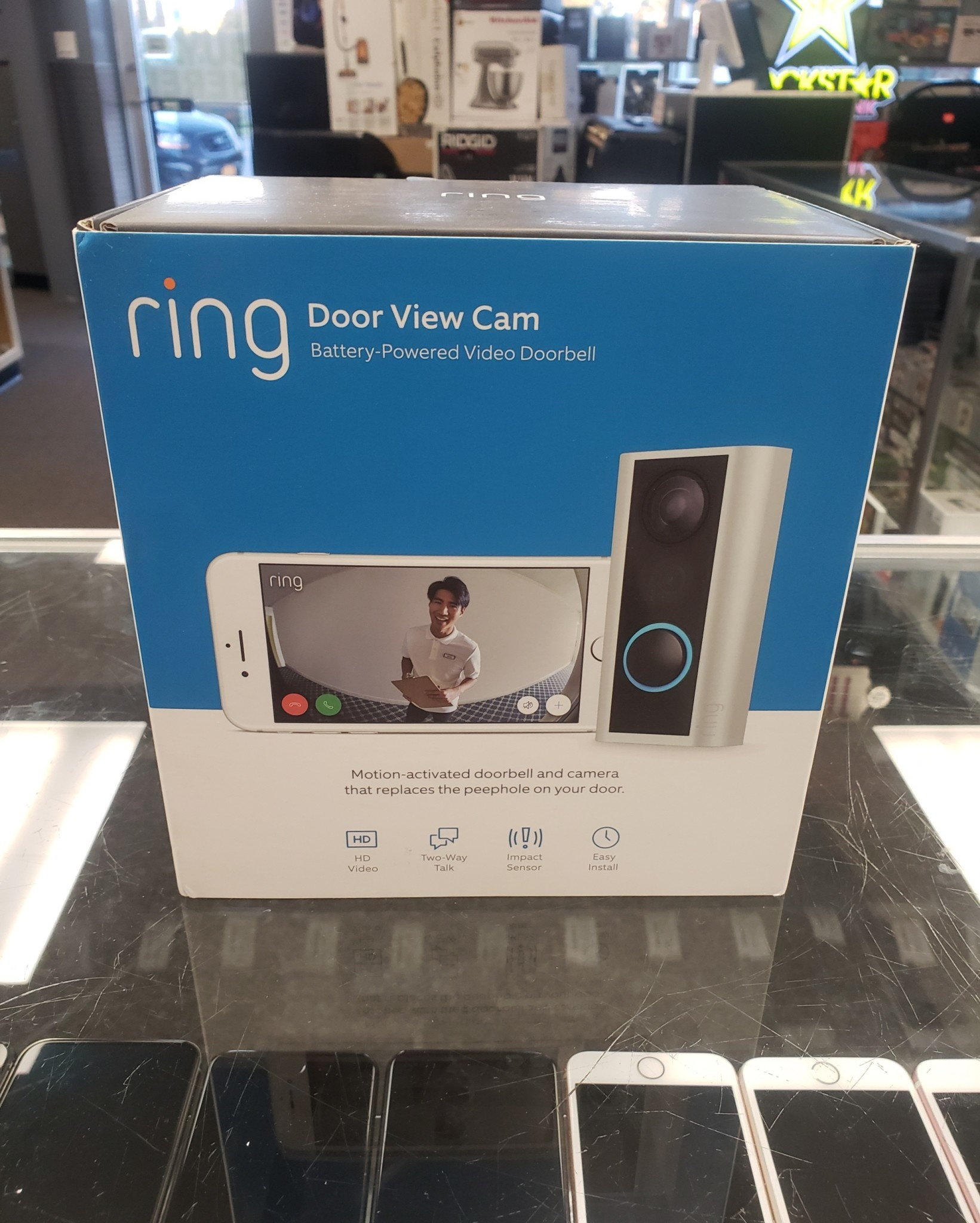 Ring Door View Cam - New in Box